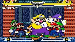 Plumbers Party 4v4 Patch MUGEN 1.0 Battle!!!
