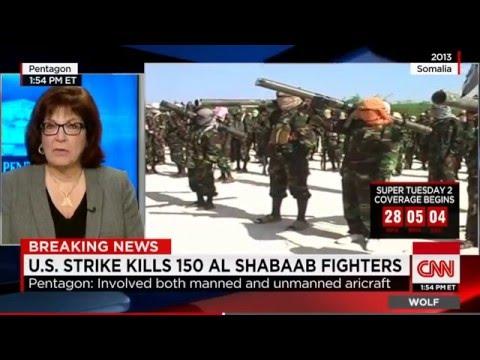 Pentagon: U.S. Drone Strike Kills 150 Al-Shabaab Fighters In Somalia