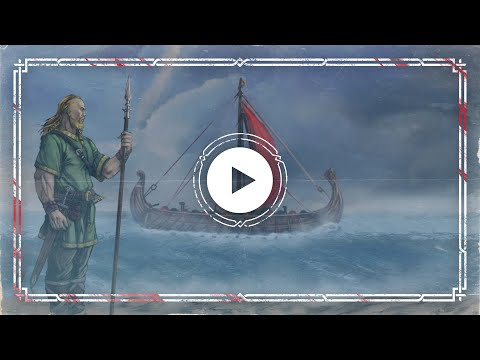 Draugablíkk — Across the Varangian Sea (Ásaland Metal Version) — Official Audio Animatic