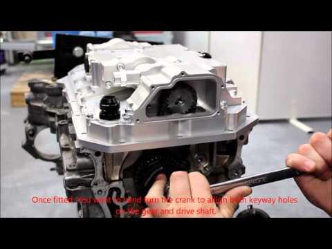 ATpowers Honda K20 dry sump system installation
