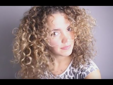 Curly Hair Tutorial Fine Thin Curly Hair To Big Hair Youtube