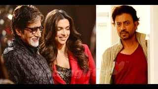 PIKU Movie Exclusive Interview Amitabh Bachchan, Deepika Padukon, Irrfan Khan