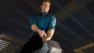 Команда мстителей пытается поднять молот Тора | Мстители. Эра Альтрона | Full HD