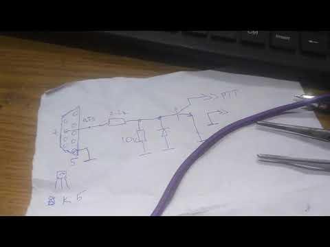 Подключение Пк к Трансиверу для работы в цифре