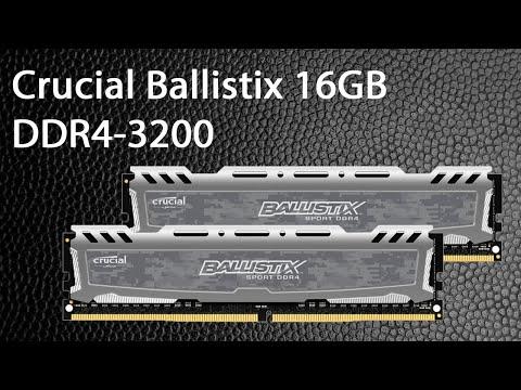 Оперативная память Crucial DDR4-3200 16384MB PC4-25600 Ballistix Sport LT Grey (BLS16G4D32AESB)