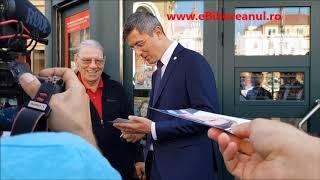 Prezidenţiabilul Dan Barna, la Oradea