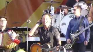 "Bruce Springsteen singing ""Pay Me My Money Down"" at 2014 New Orleans Jazz and Heritage Festival"