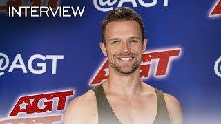 Interview: Matthew Richardson Chats About Meeting Terry Crews! - America's Got Talent 2019