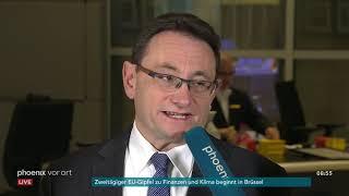 Oliver Luksic und Ulrich Lange im Bundestags-Interview zur PKW-Maut am 12.12.19
