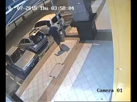 Thief at Fraser Business Park