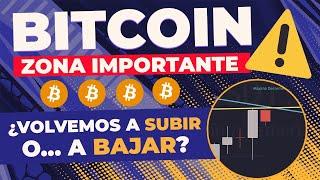 🔮El MOMENTO Más Decisivo de BITCOIN 👉 Análisis de BTC Hoy 🔥