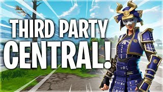 Third Party Central - 10 Kill Solo Win - Fortnite Battle Royale