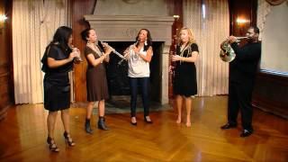 "Imani Winds performs Valerie Coleman's ""Umoja"""