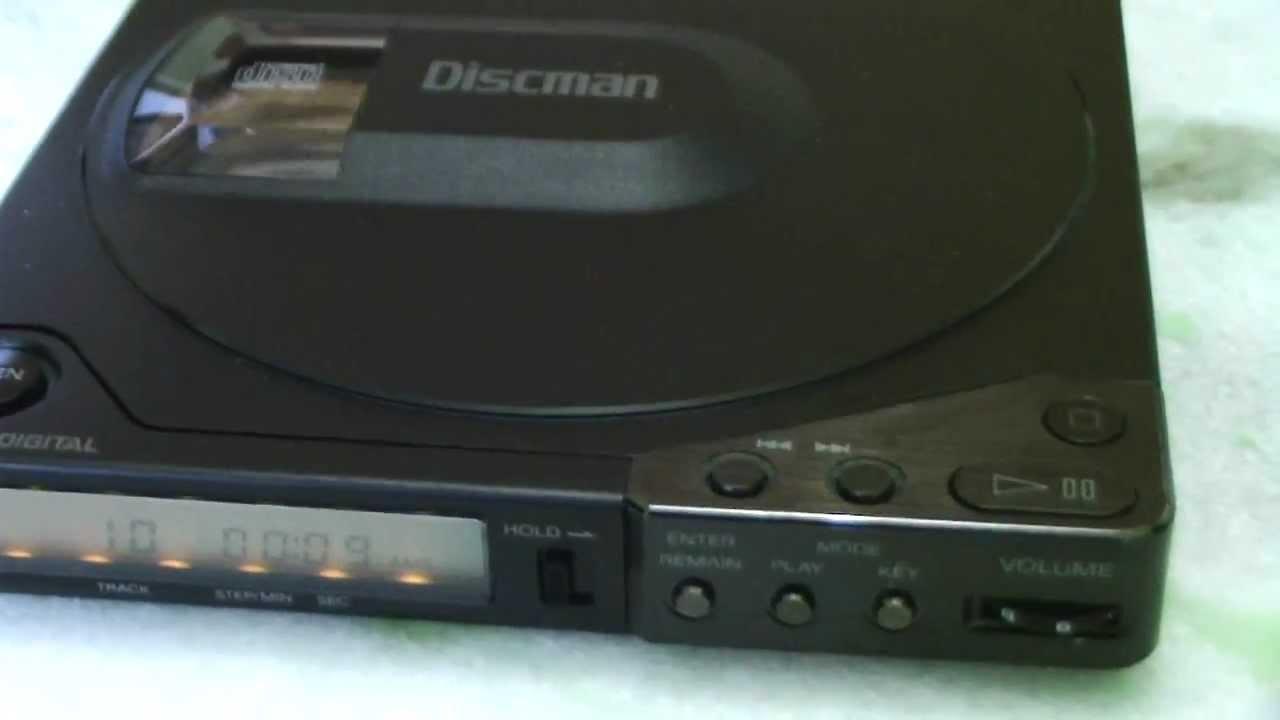 SONY DISCMAN D 150 (D15 USA) - YouTube  SONY DISCMAN D ...