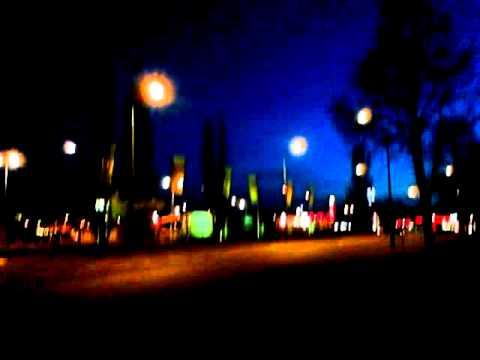 Motorola Defy Mini - filmik testowy noc