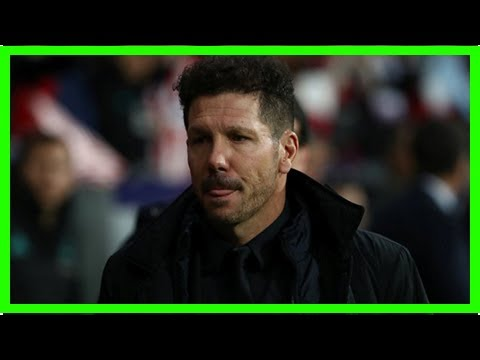 Sport News - Atletico madrid boss diego simeone suggested antoine griezmann can leave
