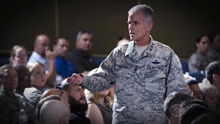 After racist incidents on campus, Air Force Academy head takes public stand