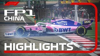2019 Chinese Grand Prix: FP1 Highlights