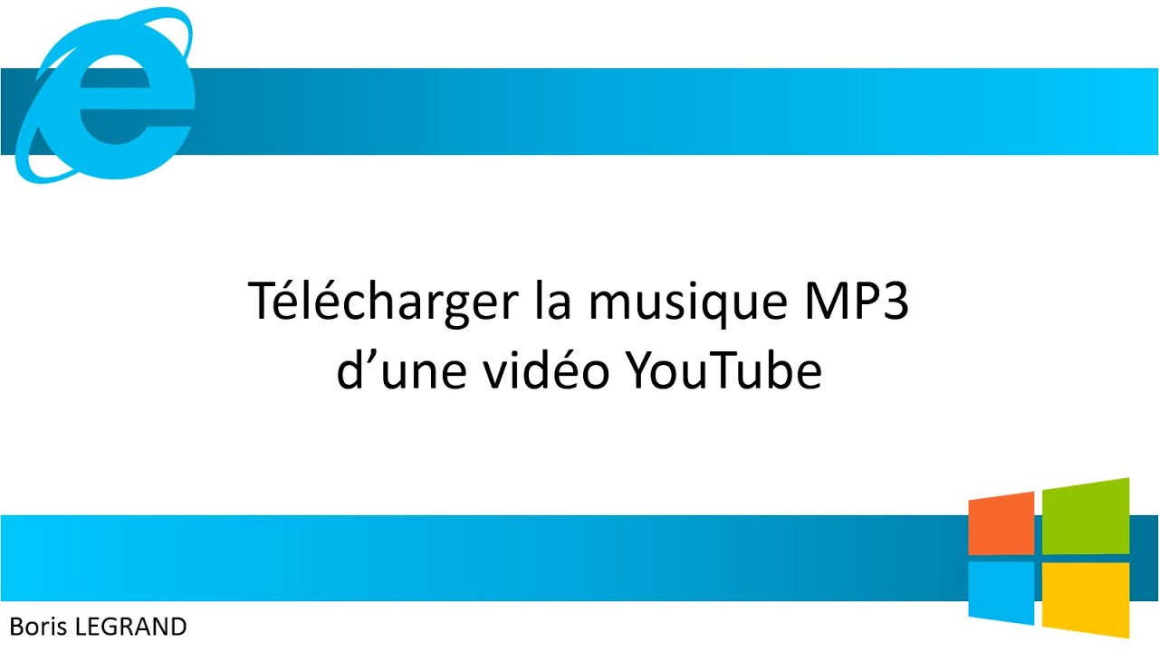 T l charger la musique mp3 d une vid o youtube gratuitement youtube - Comment couper une musique mp3 ...