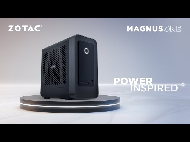 ZOTAC TV 第27回ZBOXの集大成!? 小型 × 高性能を目指した「ZBOX MAGNUS ONE」紹介