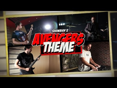 The Avengers Theme - Metal cover by Shinray