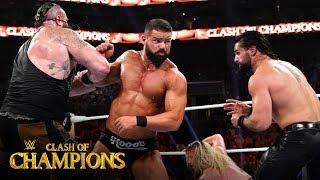 Seth Rollins & Braun Strowman battle Dolph Ziggler & Robert Roode: Clash of Champions 2019