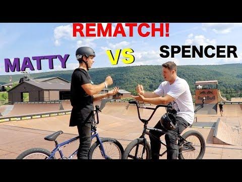 Matty Cranmer Vs. Spencer Foresman REMATCH Game Of BIKE!!