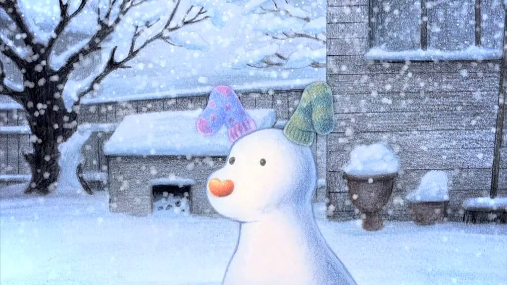 Animated Snow Wallpaper The Snowman Amp The Snowdog Trailer Youtube