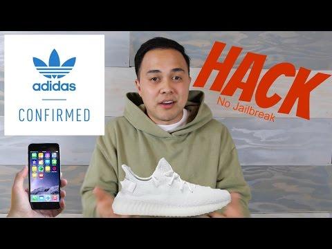 Adidas Confirmed Hack NO JAILBREAK: Get YEEZYS for retail! (Iphone)