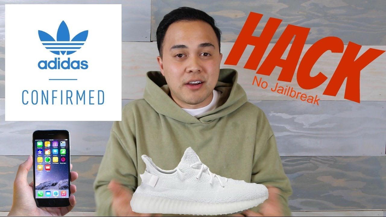 0dbfc01ade5d5 Adidas Confirmed Hack NO JAILBREAK  Get YEEZYS for retail! (Iphone ...