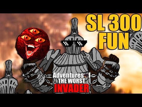 Dark Souls 3 PvP - SL 300 Invasions Are THE BEST - Adventures Of The Worst Invader