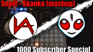 Snyd! - Skanka (Mashup) Viperactive Launchpad / DDJSX Cover *1000 Subs Special!*