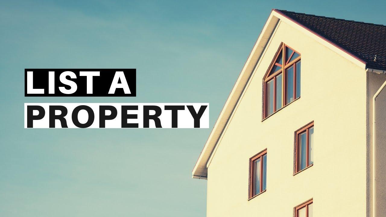 List a property