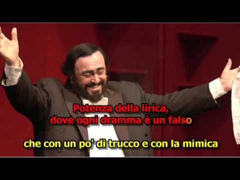 caruso.. luciano pavarotti karaokê