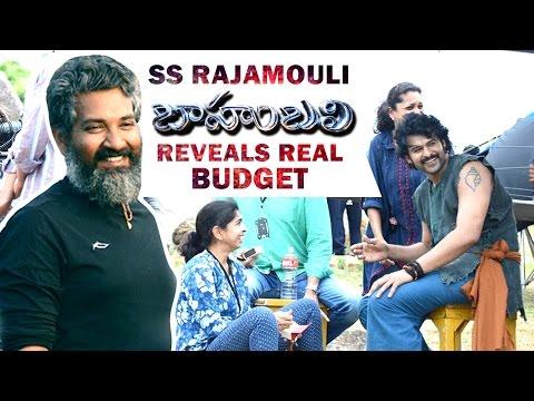 SS Rajamouli Reveals Baahubali Movie Real Budget | Prabhas | Rana | Anushka | Tamanna | Kaaki Janaki