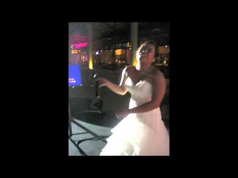 Karaoke with the Bride