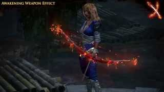 Path of Exile - Awakening Weapon Effect