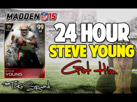 Video madden 15 ultimate team 24 hour steve young pack opening