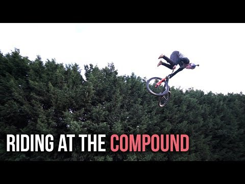 Riding Slopestyle Jumps At My MTB Compound!