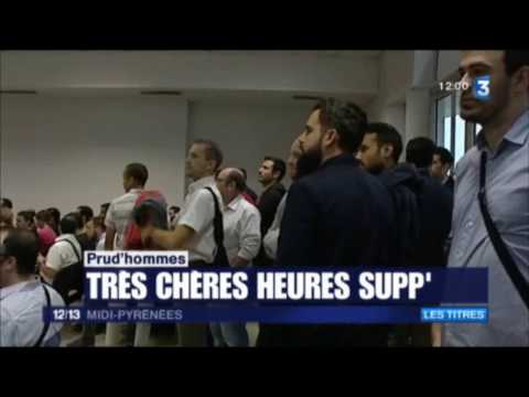 Heures Supplémentaires Altran Technologies TPH Toulouse 2016 France 3  12/13