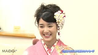 第13回「全日本国民的美少女コンテスト」で、吉本実憂さん(16)ととも...
