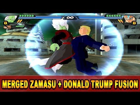 Donald Trump and Merged Zamasu Fusion | Trumpasu | DBZ Tenkaichi 3 (MOD)