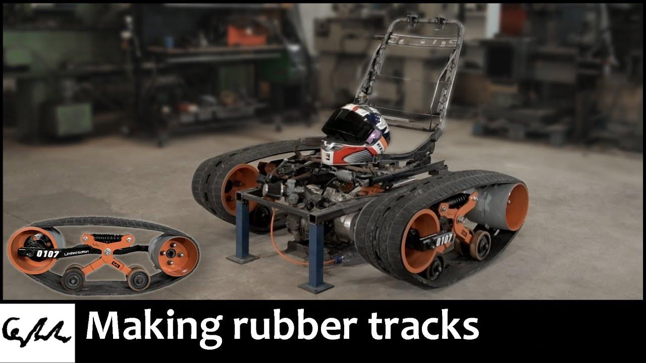 Making tank chair tracks