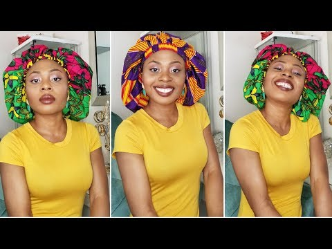 Ankara Silk Bonnet - African Prints Fabric Fashion