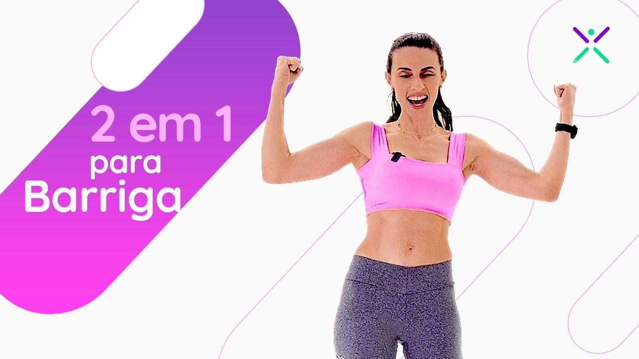6 Exercícios Para PERDER A BARRIGA Rápido I Exercício em Casa