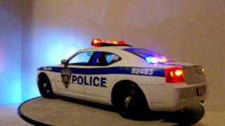 1/18 New York/ New Jersey Port Authority Police Dodge Charger NY/NJ Police Custom Lights