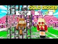I Took A GOLD DIGGER On A DATE... She TRAPPED Me And Wouldn't Let Me LEAVE! (Minecraft)