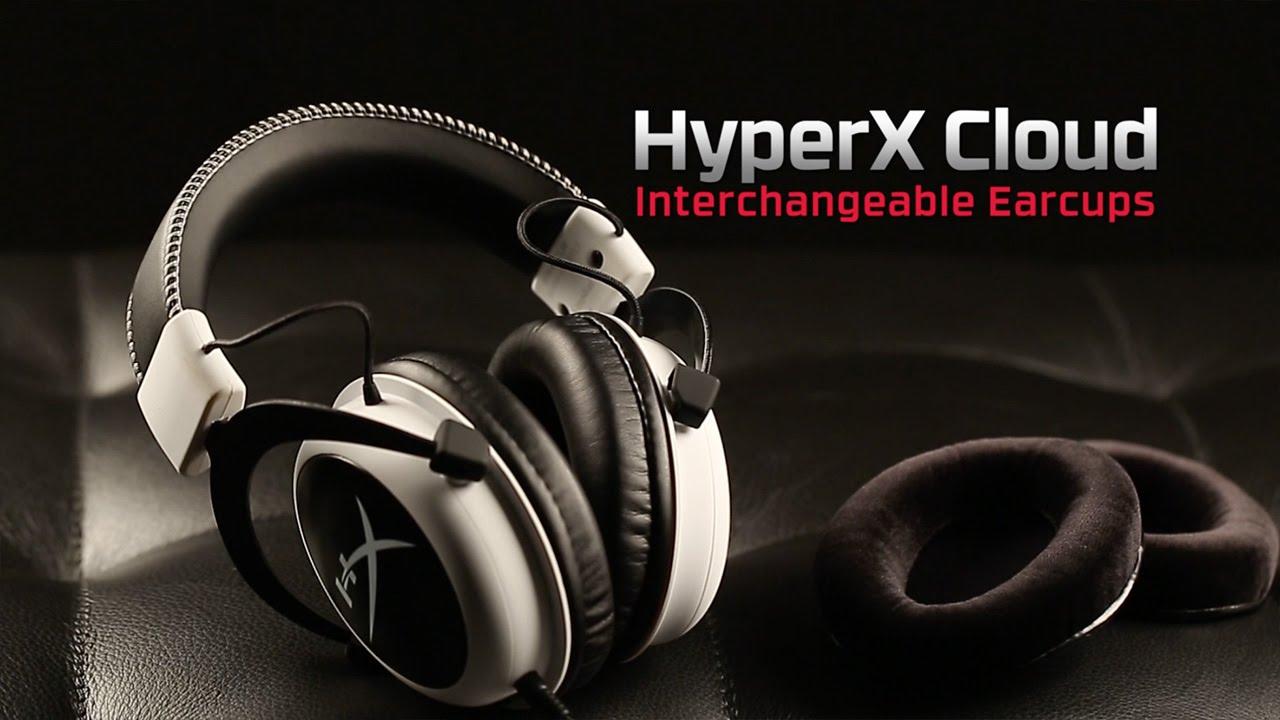 可替換式耳罩 | HyperX Cloud 耳機 - YouTube