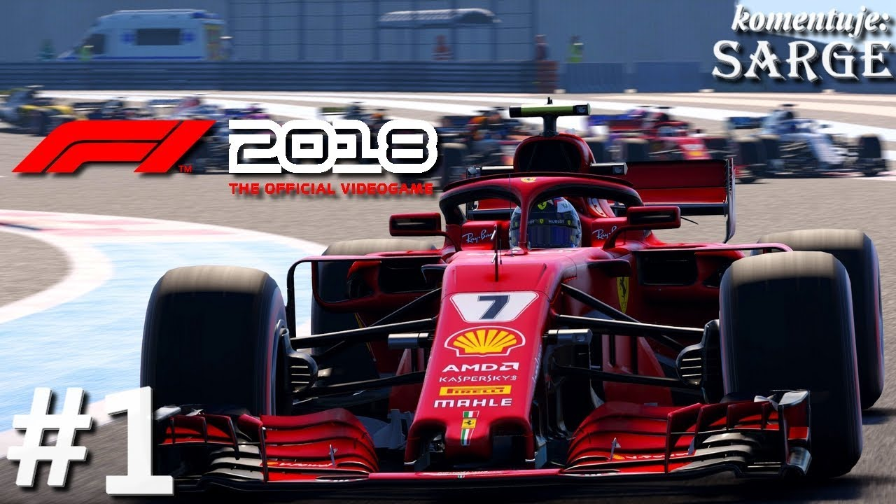 f1 2018 ps4 pro gameplay 1 3 grand prix belgii youtube. Black Bedroom Furniture Sets. Home Design Ideas