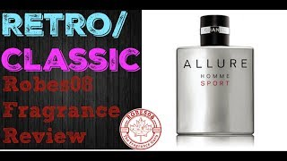 Allure Homme Sport by Chanel Fragrance Review (2004) | Retro Series